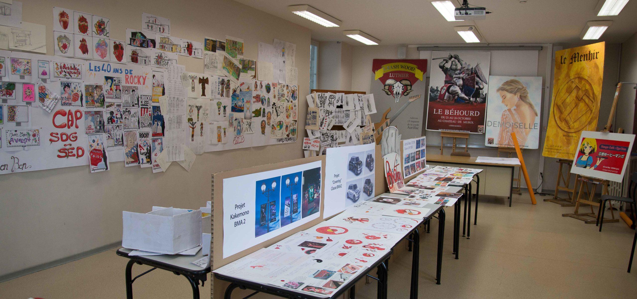 expo Lycée St Géraud