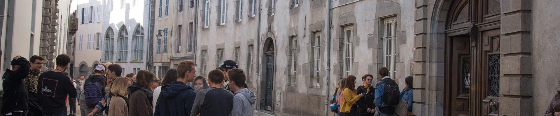 Rue Aurillac - Lycée St Géraud