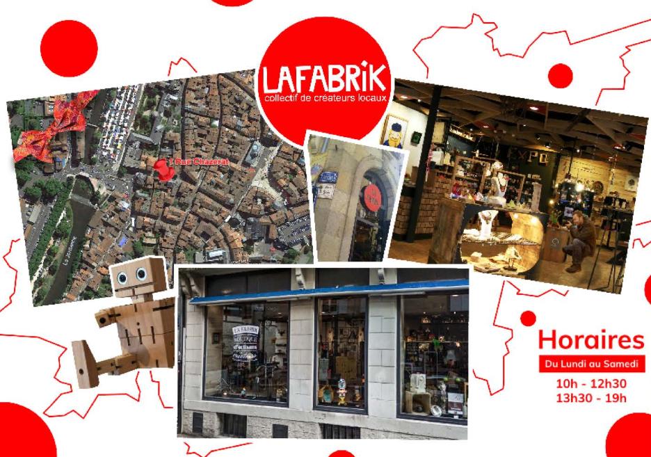 La Fabrik : Collectif d'artisans d'art - Lycée St Géraud