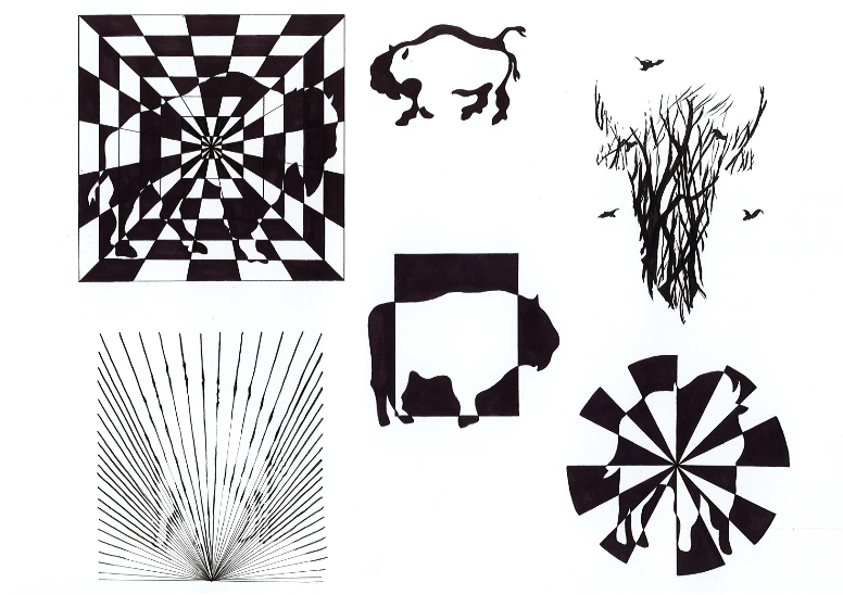 Compositions graphiques - Lycée St Géraud