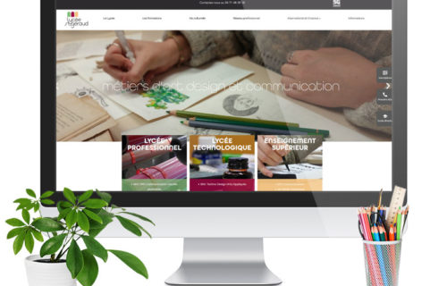 Nouveau site web - Lycée St Géraud
