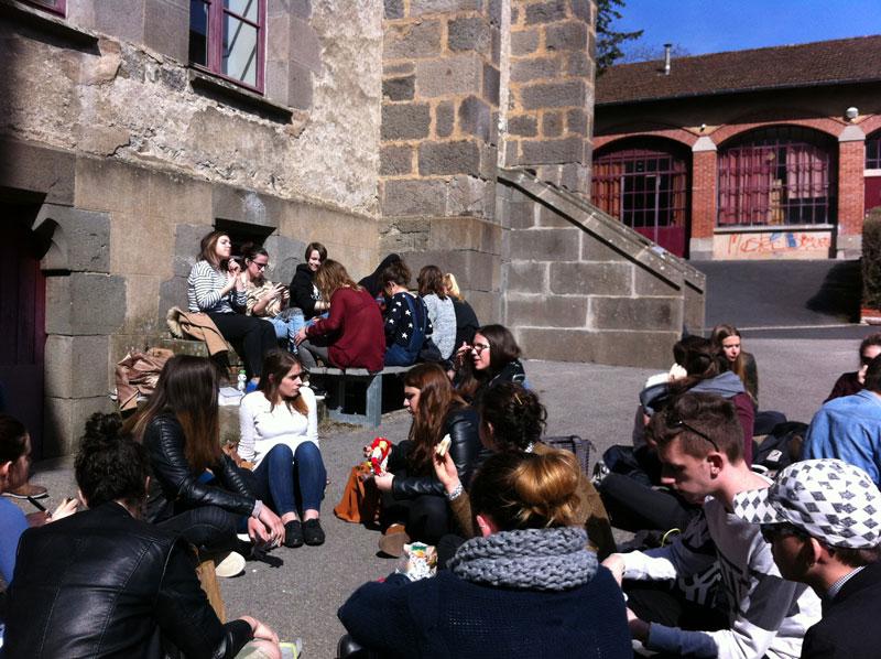 Lycée St Géraud & Etudiants