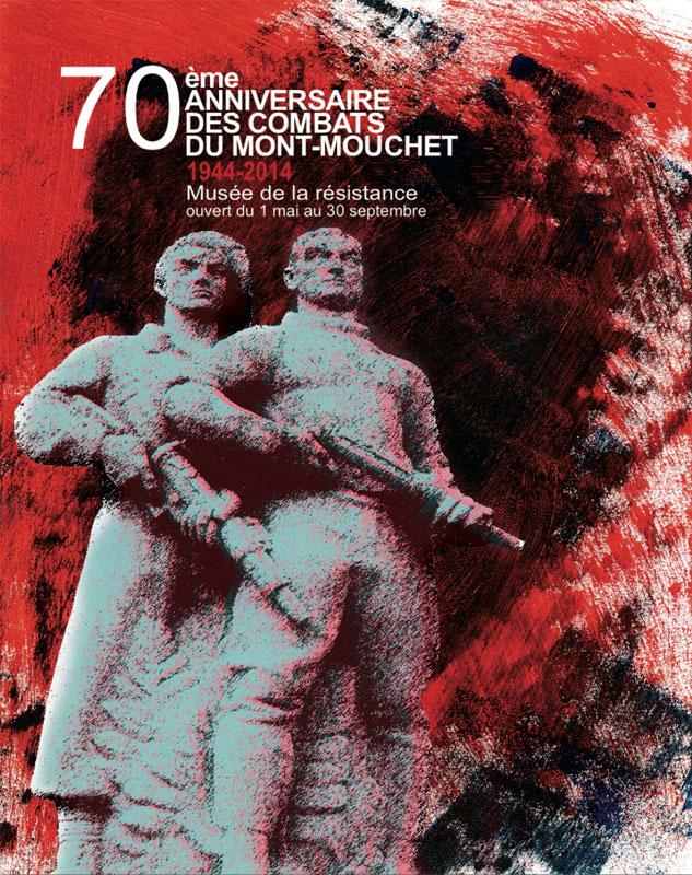70e anniversaire des combats du Mont Mouchet