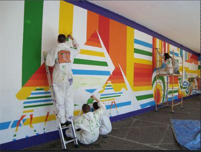 Fresques murales - Saint Géraud